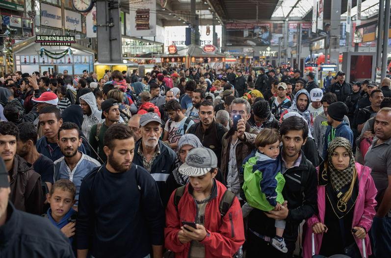 Alemania, Francia y España, los que recibirán más refugiados