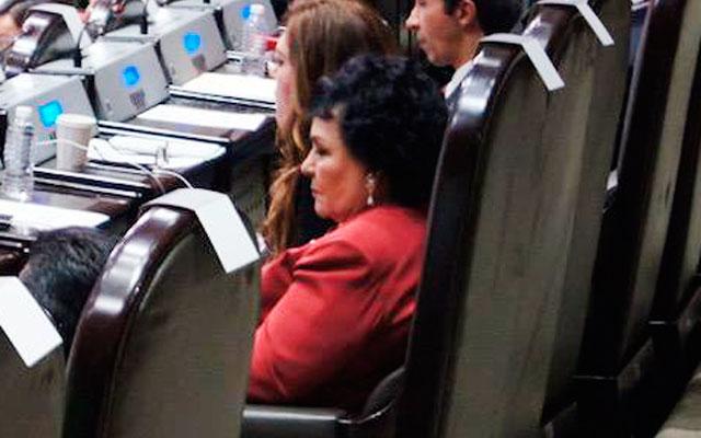 'No tengo iniciativas, no la hagan de pedo', dice Carmen Salinas