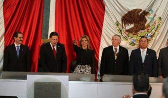 Claudia Pavlovich toma protesta como gobernadora de Sonora