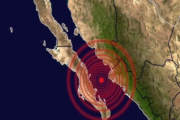 Varios sismos, uno de 6.9 grados, sacuden Sinaloa y BCS