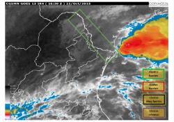 Autoridades de Coahuila en alerta por lluvias y fuertes vientos