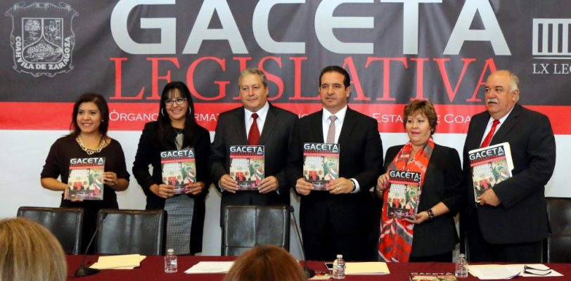 Presentan App para conocer Gaceta Legislativa en Coahuila