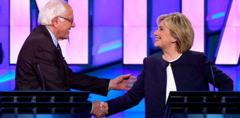 Se fortalece Hillary Clinton tras el primer debate demócrata en EE UU