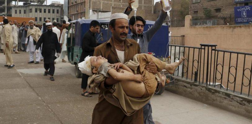 Azota terremoto a Pakistán y Afganistán
