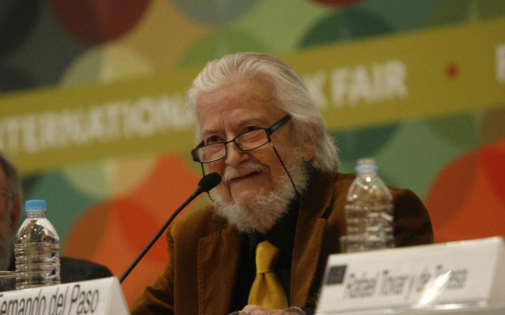 Fernando del Paso gana Premio Cervantes 2015