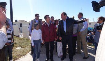 Cumplimos con Acuña: Enrique Peña Nieto