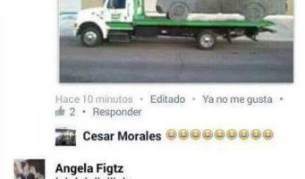 Encuentra la camioneta que dibujó, después de burlas en Facebook