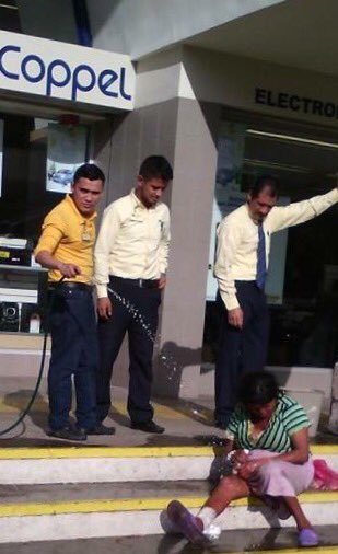 Clausuran tienda de Coppel  tras humillación a 2 personas en situación de calle