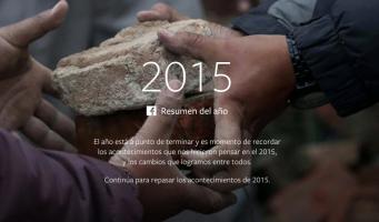 Publica Facebook los eventos más compartidos en 2015