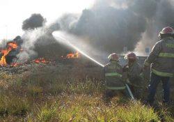 Mueren cinco personas que recolectaban combustible de toma clandestina en Tabasco