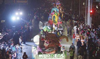 Cerrarán hoy boulevard V. Carranza por desfile Navideño