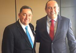Se reúne Rubén Moreira con Isidro Lopez