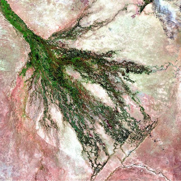 Difunden imágenes de la tierra a color descargables