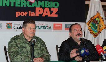 En 2016 canje de armas se prolongará todo el año en Coahuila