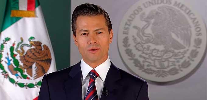 """(VIDEO) Presume EPN recaptura de Joaquin """"El Chapo"""" Guzmán en mensaje de año nuevo"""