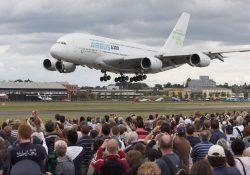 Aterriza en México el avión más grande del mundo; el Airbus A380
