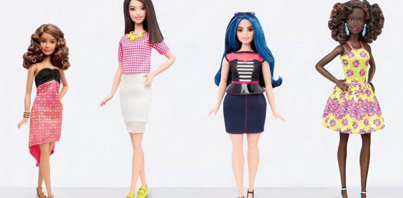 (VIDEO) Barbie estrena tres tallas de cuerpo y seis tonos de piel