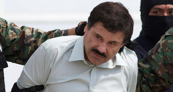 """Informa EPN recaptura de """"El Chapo"""""""