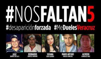 Desaparecen a jóvenes de Veracruz en el Triángulo de las Bermudas