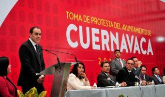 Cuauhtémoc Blanco pide diálogo con Graco Ramírez, tras polémica del Mando Único