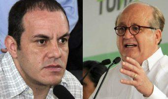 Gobernador de Morelos afirma que grupo criminal rodea a Cuauhtémoc Blanco