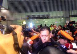 Humberto Moreira llega a México, dice no saber si regresa a la política