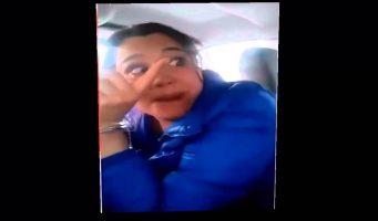 """Suspenden 2 meses a oficial que detuvo a """"Lady taxi"""""""
