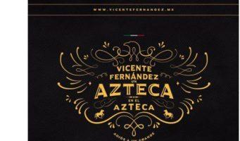Anuncia Vicente Fernández su concierto de despedida en el Estadio Azteca