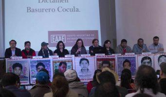 Descartan peritos argentinos incineración de normalistas en basurero de Cocula