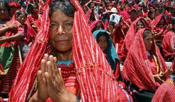El 'histórico' encuentro del Papa con los pueblos indígenas de Chiapas