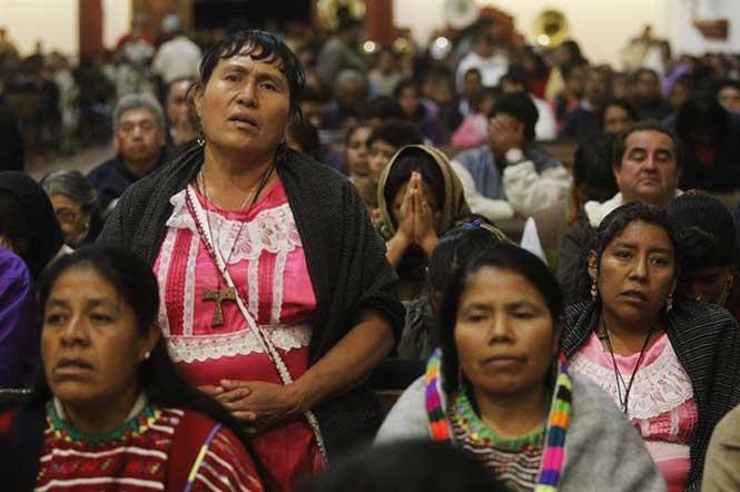 Ellos son los indígenas que estarán (y los que no) con el Papa en Chiapas