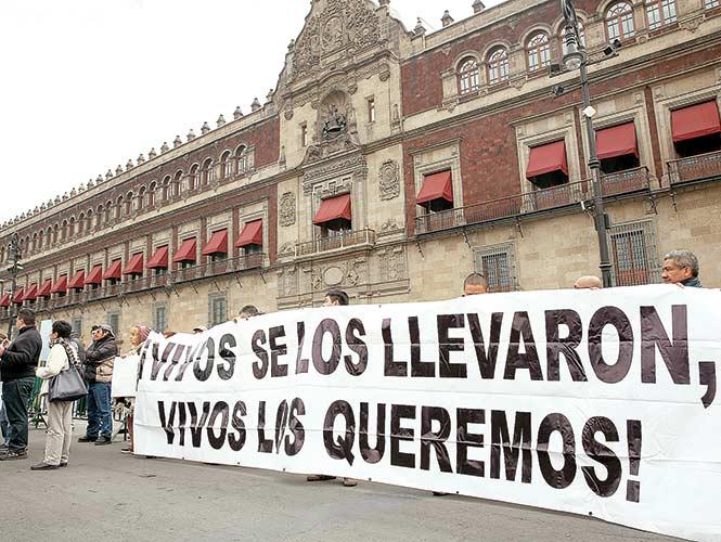 Reporta el gobierno de EPN cifra oficial de 27 mil 659 desaparecidos en México
