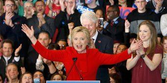 Confirma Partido Demócrata triunfo de Hillary Clinton en Iowa