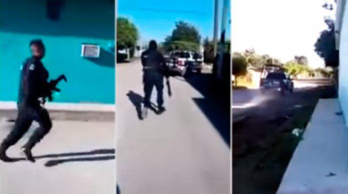 Los policías que huyeron de sicarios son acusados de homicidio en Sinaloa