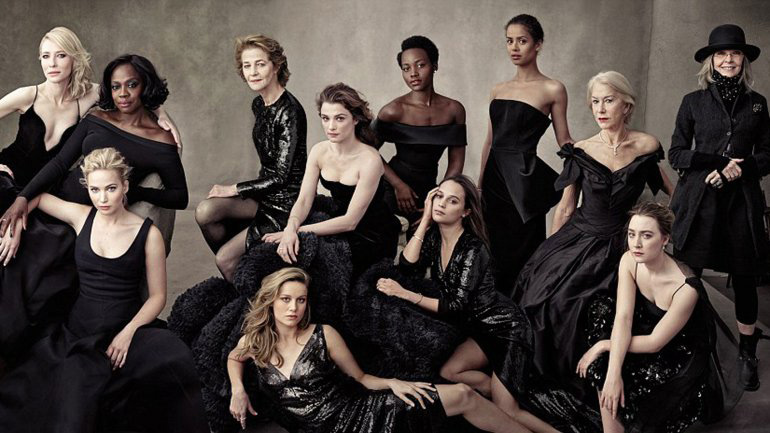 Trece actrices de Hollywood posan para portada de revista contra racismo en el Oscar