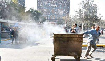 Estalla la violencia en la UNAM por captura de un narcomenudista