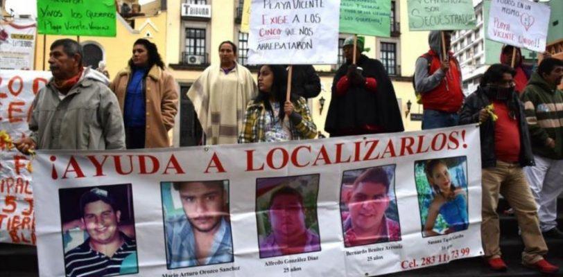 Se cumplen tres semanas de la desaparición de 5 jóvenes en Veracruz