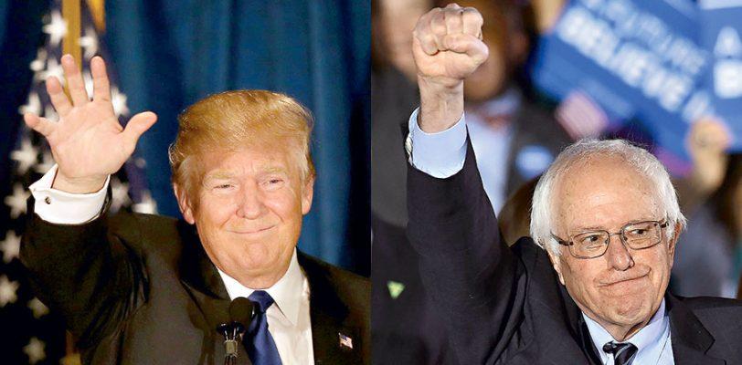 Trump y Sanders le ganan la segunda batalla a Cruz y a Clinton