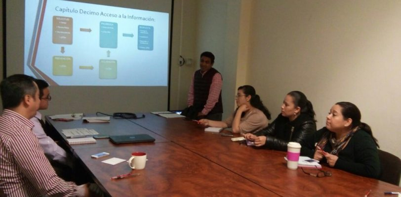 ICAI imparte cursos a sujetos obligados en materia de transparencia