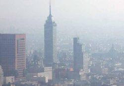 OMS advierte sobre riesgos de la contaminación del aire en CDMX
