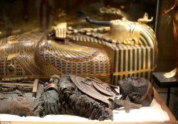 Descubren salas ocultas en tumba de Tutankamón en Egipto