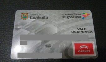 Con tarjetas de despensa sustituyen parte del sueldo de burócratas