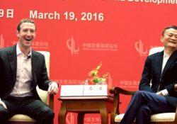 Se burlan en China de la visita del fundador de Facebook