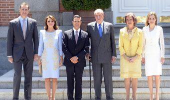 EPN cenó en  España, con directivos de OHL y un empresario acusado de corrupción