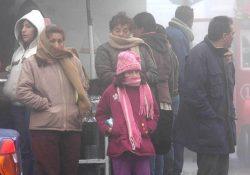 Exhortan a la población a tomar precauciones por bajas temperaturas
