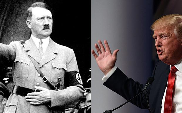 Se encienden alertas en EU por comparaciones de Trump con Hitler
