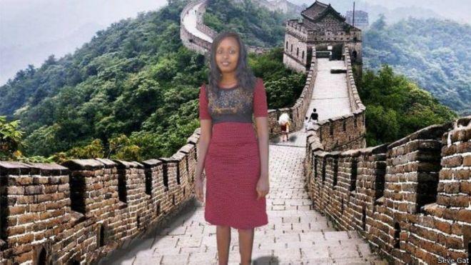 El final feliz para la keniana que utilizó terriblemente mal el Photoshop