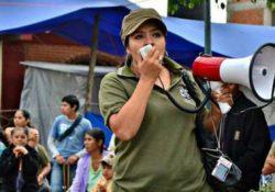 Nestora Salgado sale de prisión  luego de dos años y medio