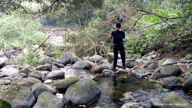 Desaparece rio en Veracruz; se lo tragó literalmente la tierra