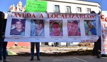 Jóvenes desaparecidos en Veracruz habrían sido ejecutados por crimen organizado